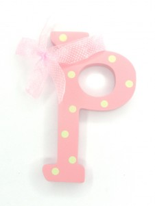 Hanging Letters Baby Girl P