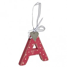 LOVE HOME ALPHABET LETTER A