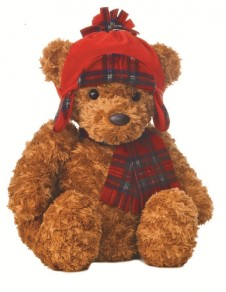 Wagner Bear Red Hat