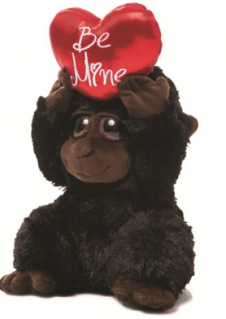 Be Mine Gorilla Plush