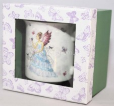 Fairyland Fairy Bone China Mug Violet