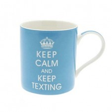 Keep Calm and Keep Texting Mug