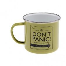 Enamel Mug Dont Panic