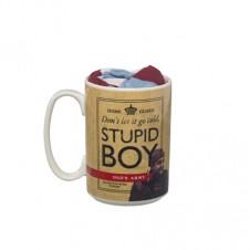 Stupid Boy Mug and Socks