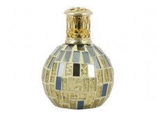 Premium Fragrance Lamp Small - Gold and Mirrors