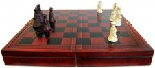 Traditional Mandarin Chess Set With Case