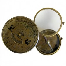 40 Years Calendar - Compass and Magnifier