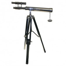 Grand Brass Telescope Expandable Stand