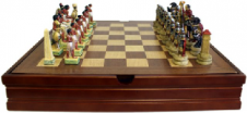 Themed Chess Set - Egyptian vs Romans