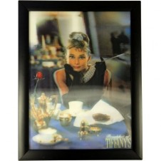 Iconic 3D 40x30cm - Tea at Tiffanys
