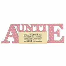 Word Block - Auntie