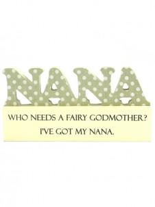 Die Cut Block Nana