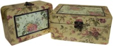 Keepsake Box  Med Victorian Set of 2