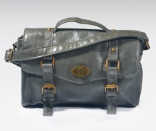 Grey Mini Satchel Day Bag