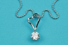 Beautiful Shaped Cubic Zirconia Pendant Necklace