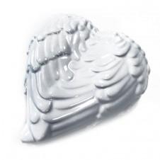 Angel Wings Trinket Box - White