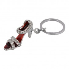 Diamante Keyrings - Shoe