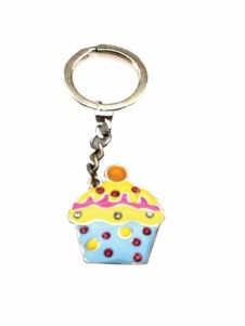 Diamante Keyrings - Cupcakes