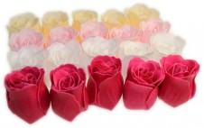 Bath Confetti -20 Roses Box - Multi Colour
