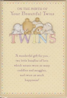 On The Birth Of Your Beautiful Twins
