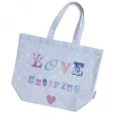 Love Shopping Fabric Bag