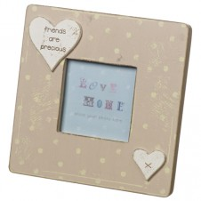 Friends Are Precious Wooden Picture Frame