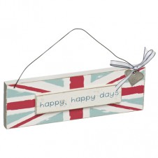 Happy Happy Days: Union Jack Plaque