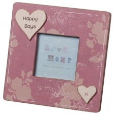 Happy Days Wooden Picture Frame