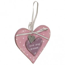 Love And Kisses Hanging Trinket
