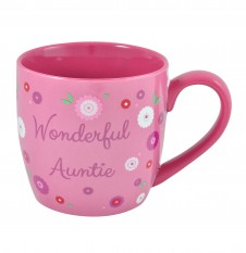 Wonderful Auntie - 11oz Quality Ceramic Mug