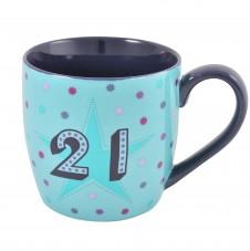 21st Birthday - 11oz Quality Ceramic Mug