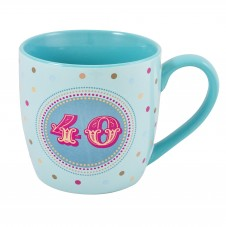 40th Birthday - 11oz Quality Ceramic Mug