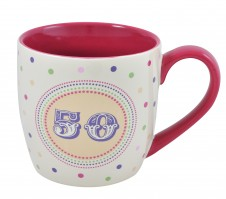 50th Birthday- 11oz Quality Ceramic Mug