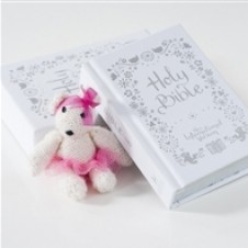 Sweet Bear Christening Bible