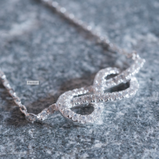 Infinity Cubic Zirconia Bracelet