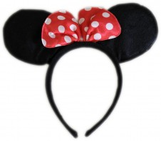 Party Hair Bands - Mouse Ears 2Pk
