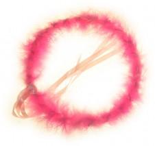 Party Hair Bands - Pink Halo 2 Pk