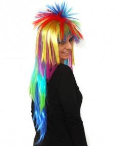 Multi-Coloured Spiky 2Pk