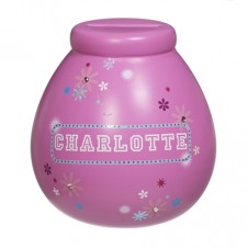 Personalised Money Pot  CHARLOTTE