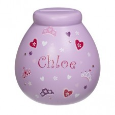 Personalised Money Pot  CHLOE
