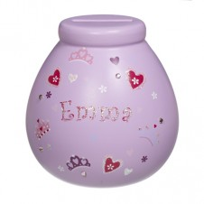 Personalised Money Pot  EMMA