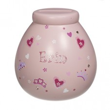 Personalised Money Pot ERIN