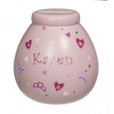 Personalised Money Pot  KAREN