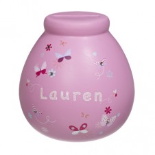 Personalised Money Pot LAUREN