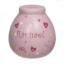 Personalised Money Pot RACHAEL