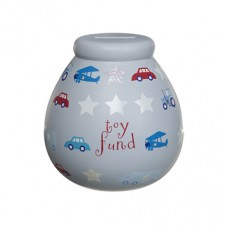 Personalised Money Pot ANY NAME Toy Fund