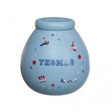 Personalised Money Pot THOMAS