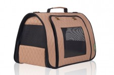Stylish Collapsible Carrier Beige