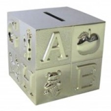Stunning Silver Plated Money Bank