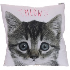 Decorative MEOW Kitten Cat Cushion